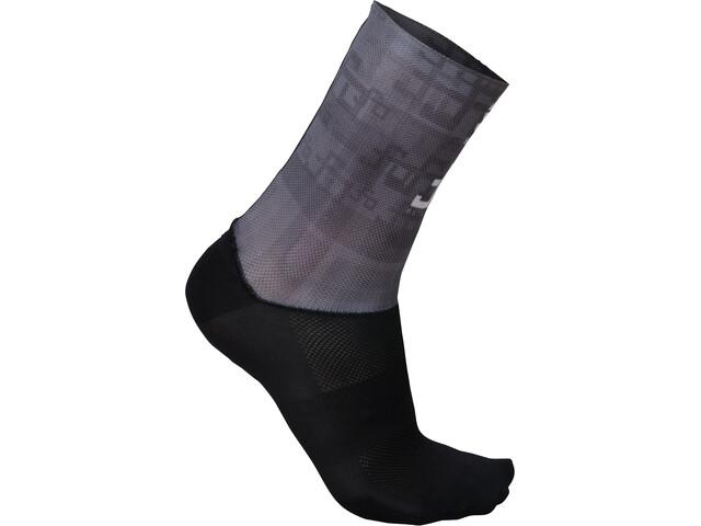 Sportful Sagan Logo Socks Herr grey